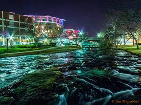 Reedy River Night