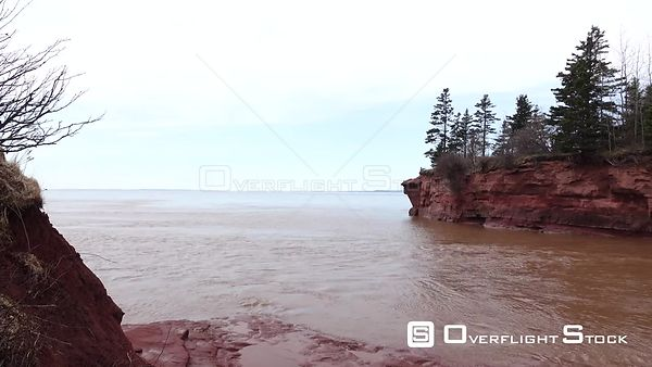 Nova Scotia Bay Of Fundy Timelapse Tide burntcote Head Park