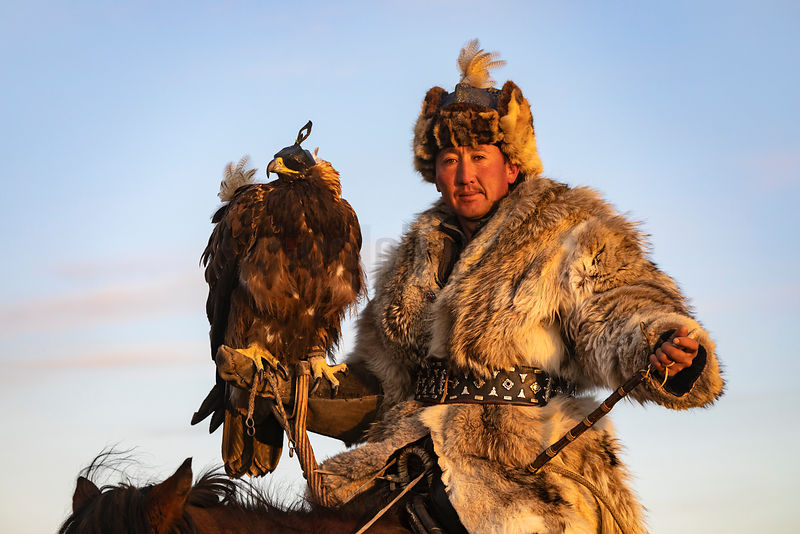 Portrait of Eagle Hunter Botei