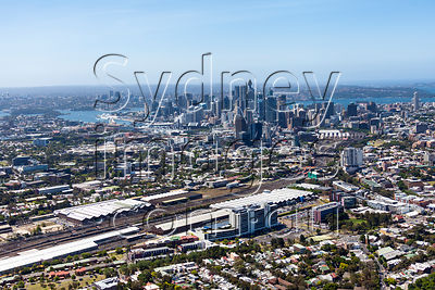Eveleigh Aerial Photography