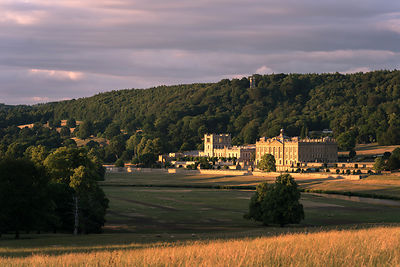 Early summer evening light at Chatsworth
