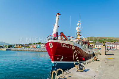 Fiona K II At Dingle Harbor (Horizontal)- Dingle, Ireland