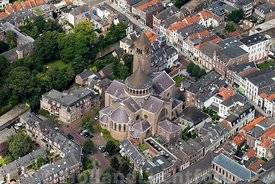 's-Hertogenbosch - Luchtfoto Jheronimus Bosch Art Center