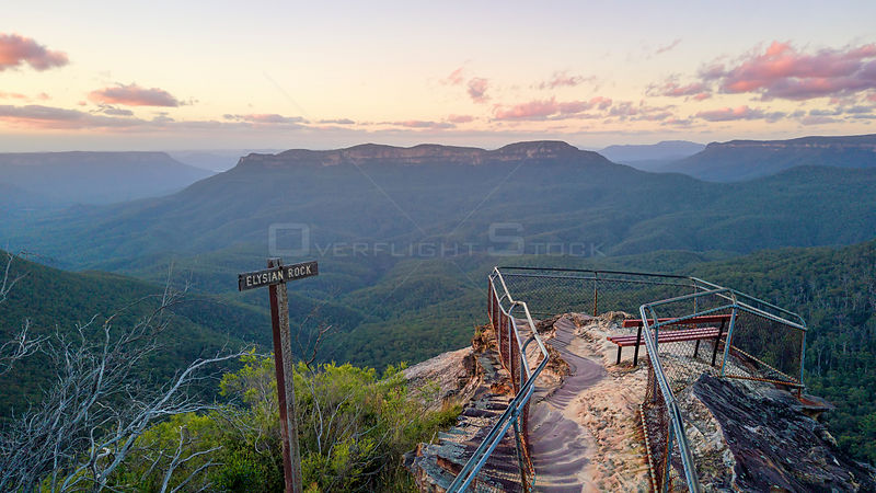 Elysian rock lookout scenic views of Australia