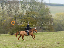 Angus Smales above Braunston. The Cottesmore Hunt at Braunston