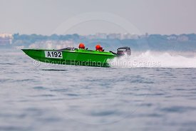 A192, Fortitudo Poole Bay 100 Offshore Powerboat Race, June 2018, 20180610136
