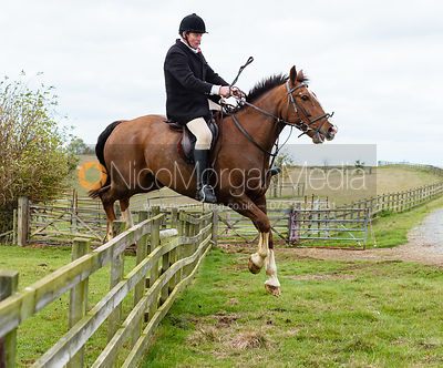 The Cottesmore Hunt at Tilton