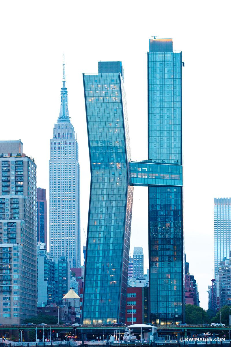 MANHATTAN MODERN ARCHITECTURE NEW YORK CITY NEW YORK COLOR VERTICAL