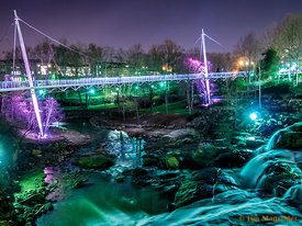 Liberty Bridge In Greenville