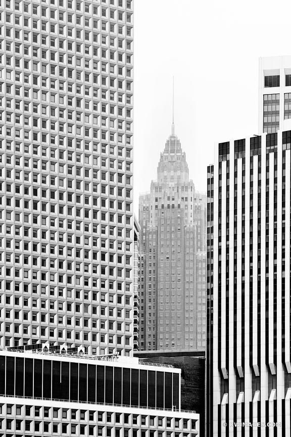 MANHATTAN ARCHITECTURE NEW YORK CITY BLACK AND WHITE VERTICAL