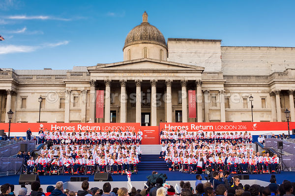 Athletes Celebration in London 2016