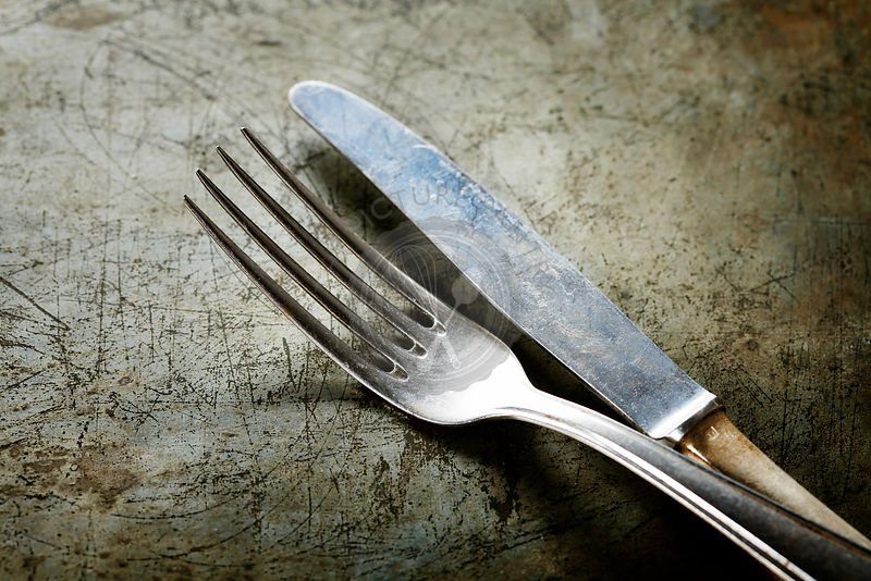 Dining fork and knife