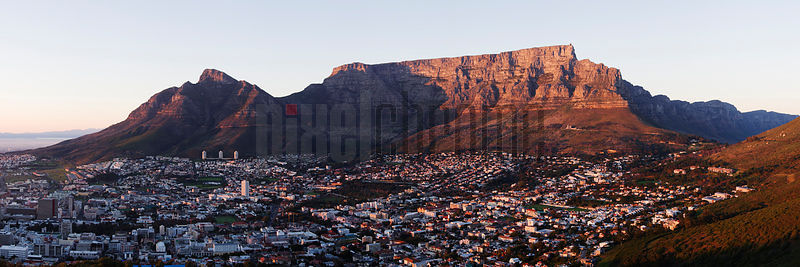 Table Mountain Cape Town Skyline