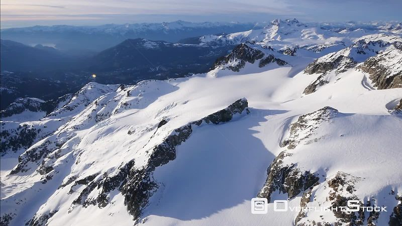 Garibaldi Park in Winter Whistler BC Canada