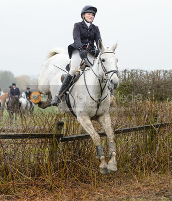 The Belvoir Hunt at Farriers Forge 10/2