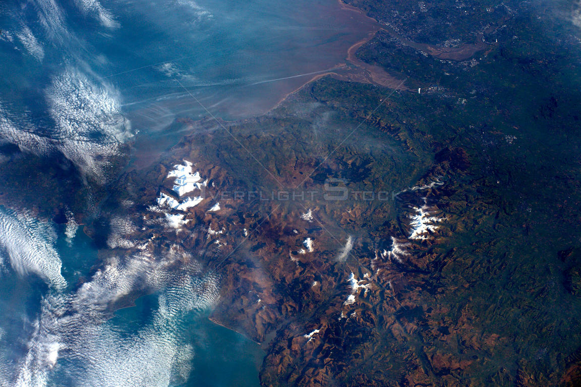 Tim Peake beams down amazing image of Snowdonia from the ISS