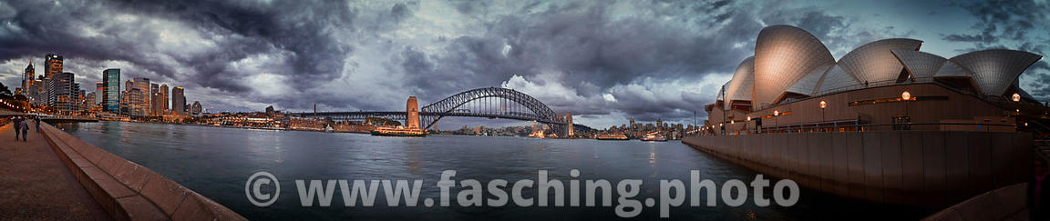 Sydney Harbour Panoramic View