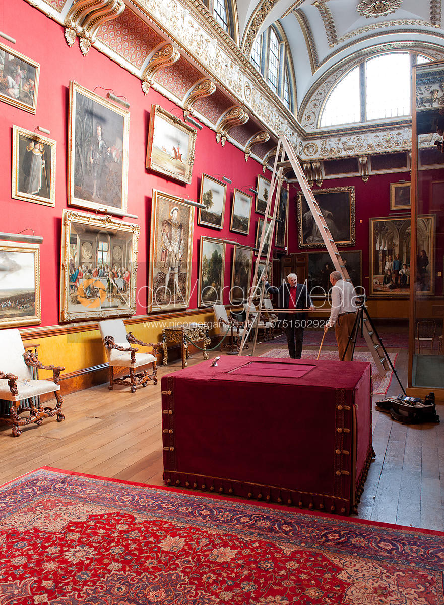 The Gallery, Belvoir Castle