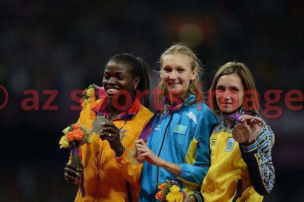 Triple Jump Medal Ceremony