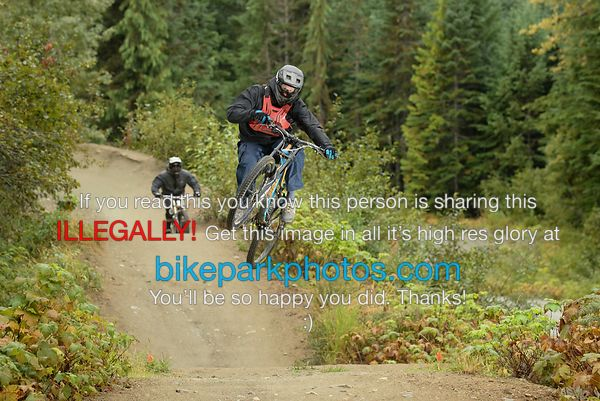 Saturday September 22nd Aline First Hit bike park photos