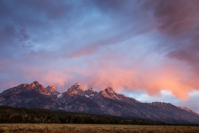 Teton Range, Wyoming