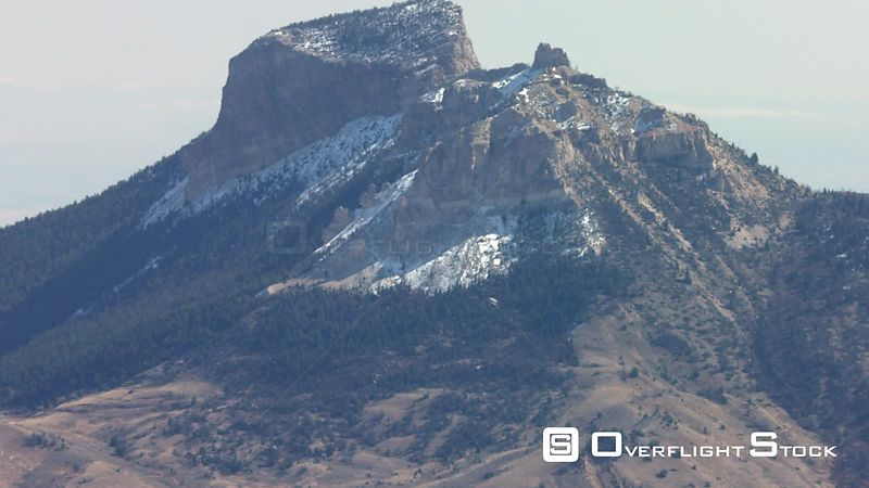 Heart mountain sits in the high desert of Wyoming between Cody and Powell