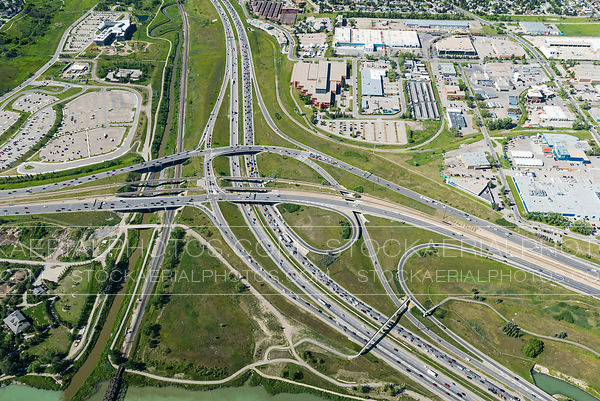 Deerfoot Trail at Memorial Drive Interchange