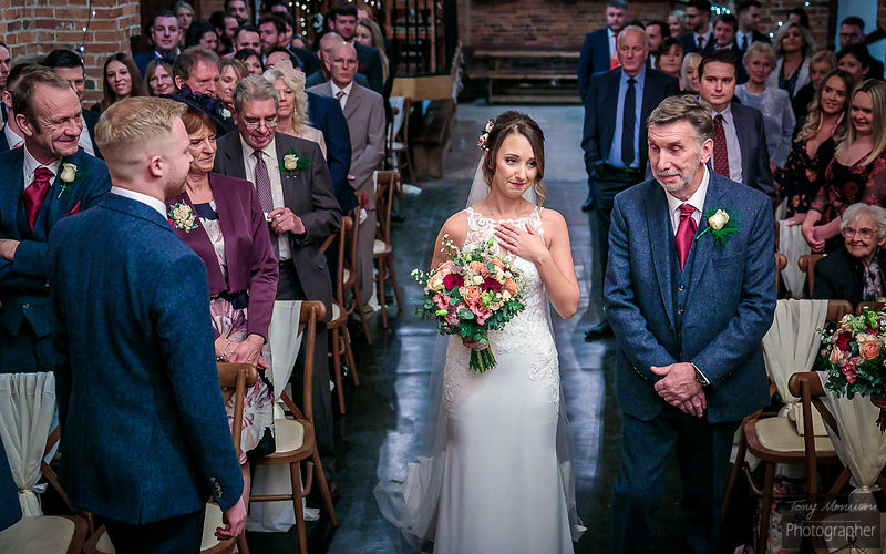 Donnington Park Farmhouse Hotel Wedding Photos – Lucy & Tom's Wedding - December 2018 photos