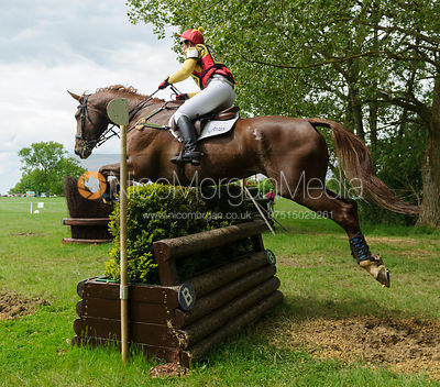 Sarah Stretton and CELTIC CONNECTION IV - Rockingham Castle International Horse Trials 2016