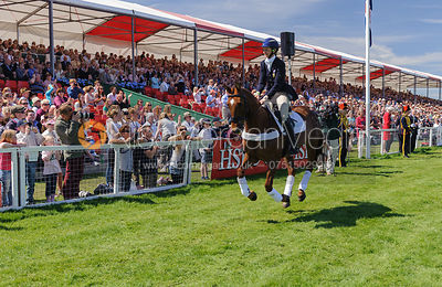 Lucinda Fredericks and HEADLEY BRITANNIA - show jumping phase,  Mitsubishi Motors Badminton Horse Trials, 6th May 2013.
