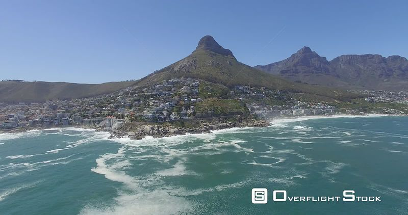 Drone Video Fresnaye Tabletop Mountain Lionshead South Africa