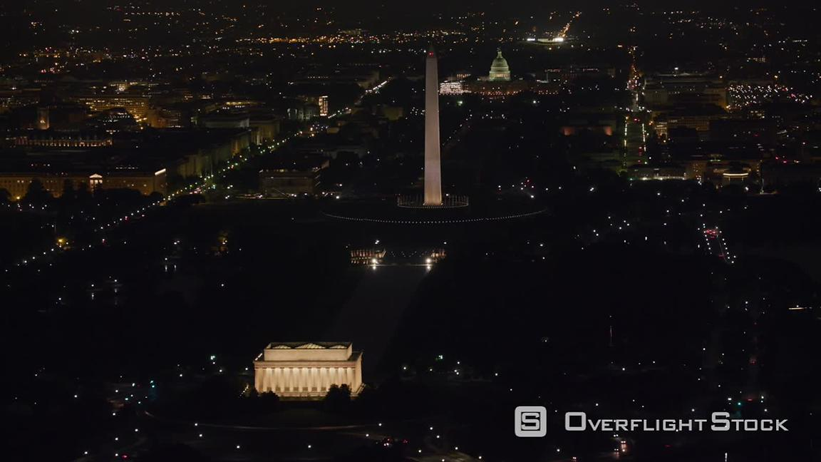 Overflightstock Washington D C Aerial View Of The Lincoln