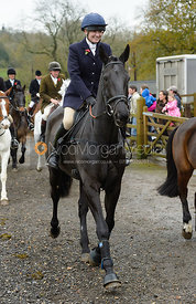 Harriet Walker at the meet at Oak House