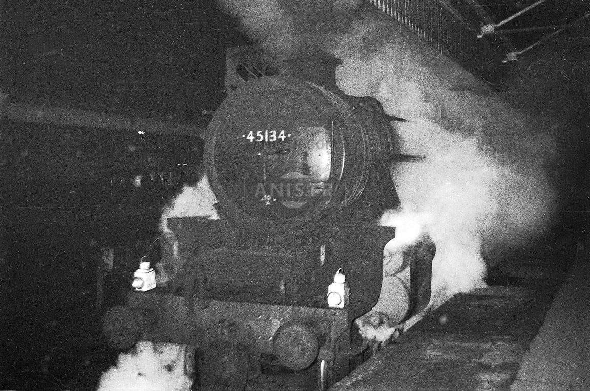 Steam loco Black 5 45134 Manchester Victoria