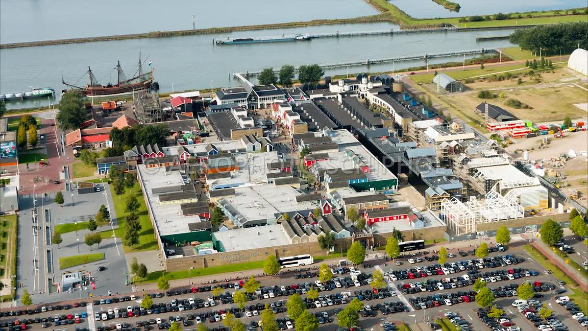 Bataviastad, Lelystad.