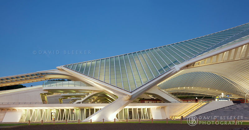 Liège Guillemins Train Station