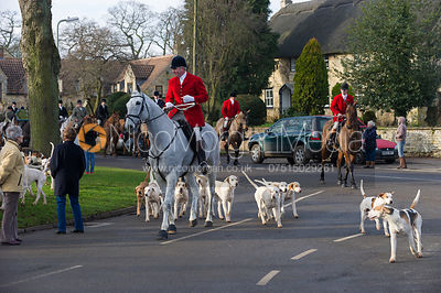 The Cottesmore Hunt at Cottesmore 12/1
