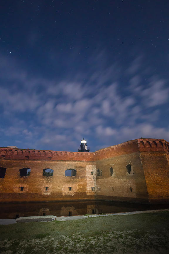 Harbor Light at Fort Jefferson in Dry Tortugas National Park
