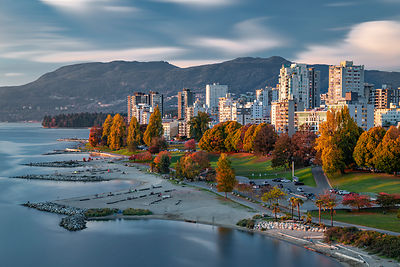 Sunset Beach and the West End of Vancouver