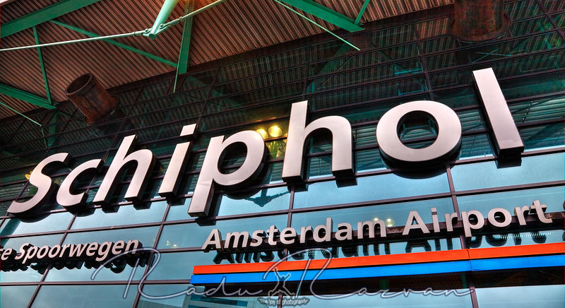 Schiphol Amsterdam Airport- Detail