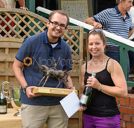 Claire Hardwick  - (Garthorpe Points Presentations - The Meynell & South Staffs at Garthorpe