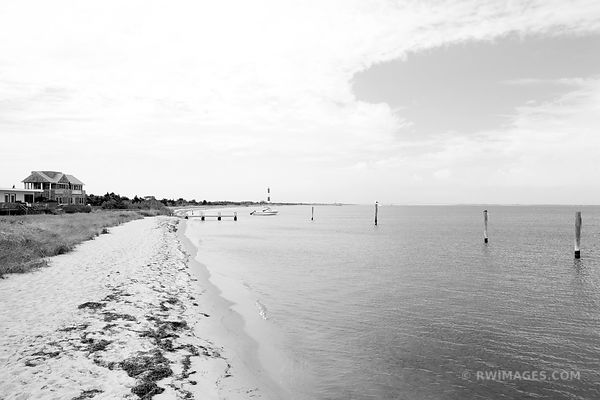 FIRE ISLAND NEW YORK BLACK AND WHITE