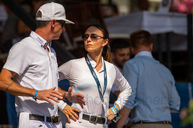 29/07/18, Berlin, Germany, Sport, Equestrian sport Global Jumping Berlin - Chmpionat der DKB von Berlin -   Image shows Denis...