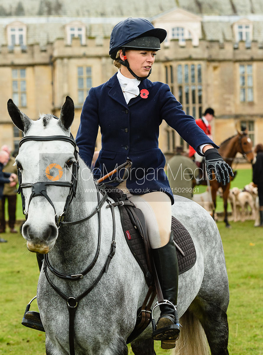 Gemma Redrup at Fitzwilliam Hunt Opening Meet 2018.