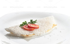 Tapioca stuffed with cheese