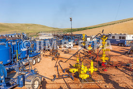 Multiple Well Frac