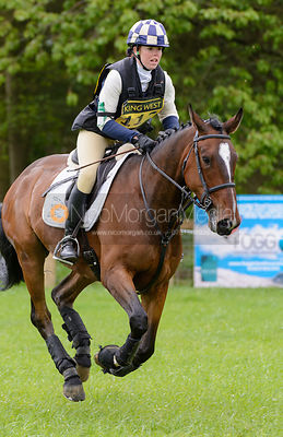 Rosie Skinner and SIMBA - Brigstock International Horse Trials, Rockingham Castle 2014