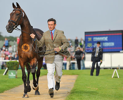 James Robinson and Commanche - 2nd Inspection - Burghley 2010