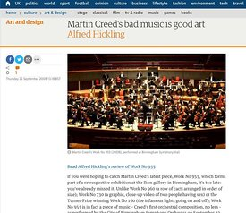 Martin creed work no.955 - performed by CBSO