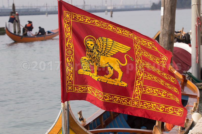 Flag of Venice at the Water Parade